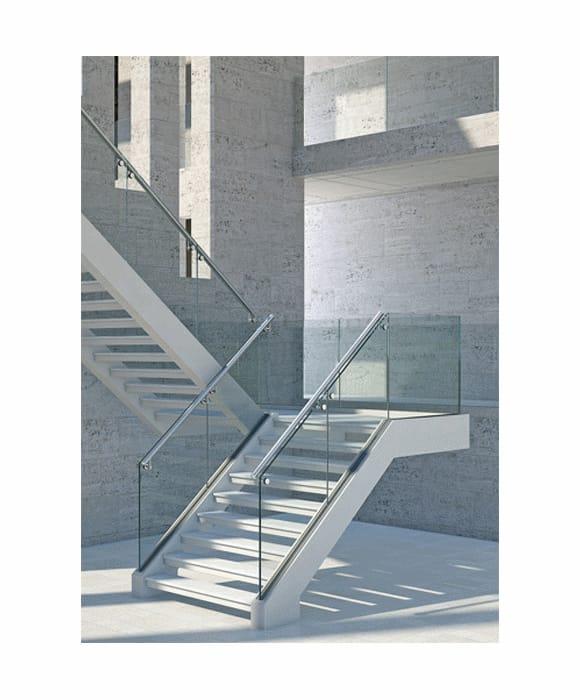 Aluminium Glass Stair Railing