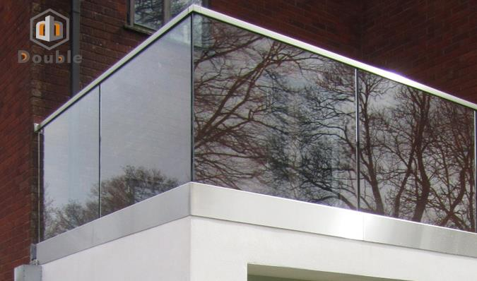 Aluminium Glass Balcony  Railing