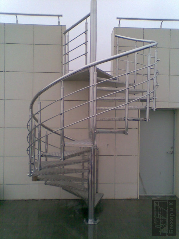 Stainless Steel Terrace Staircase Railing